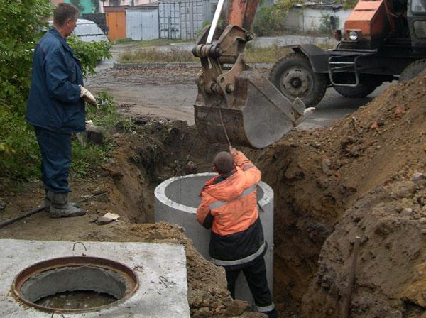 канализация ремонт