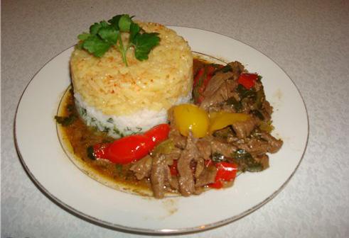 Мясо по-тайски пошагово рецепт с фото. Как приготовить 15