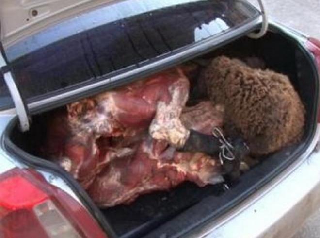 кража мяса