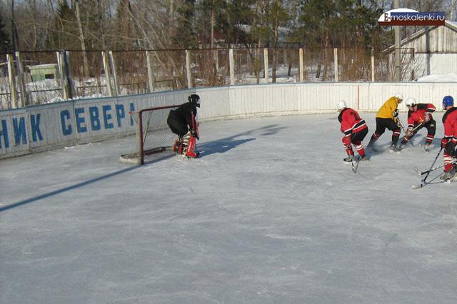 хоккей вставка